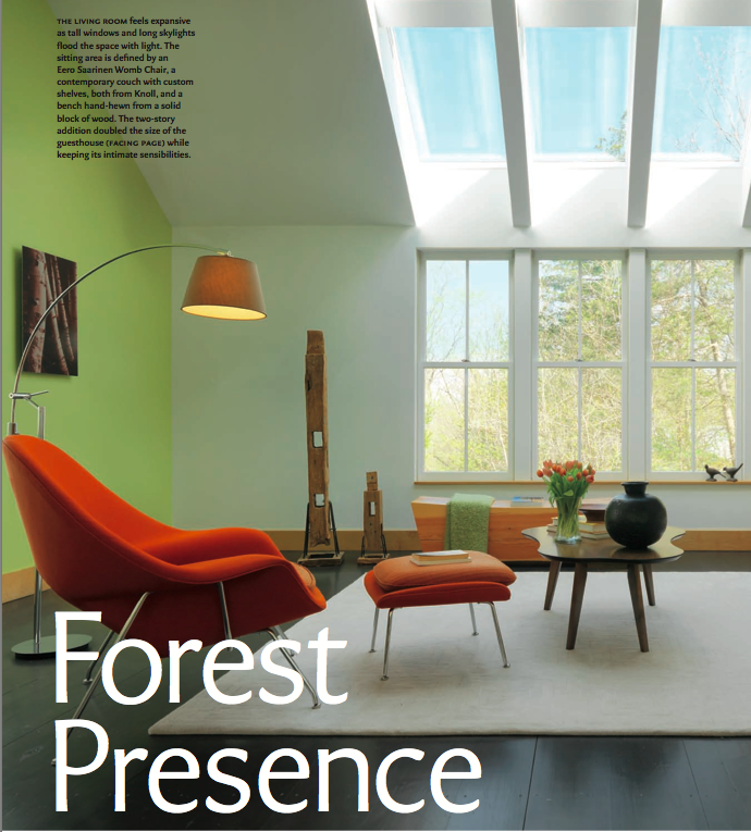Design New England Article, Forest Presence excerpt