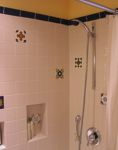 Bathroom Tiles Height cornwall, bath remodel | cambium construction