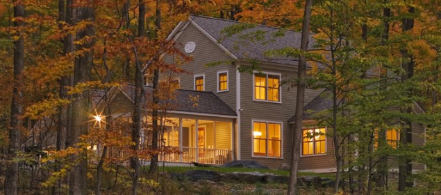 New Construction, Energy Efficient home Weybridge, VT - 2008